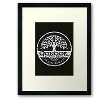 Knight Of Gondor Framed Print