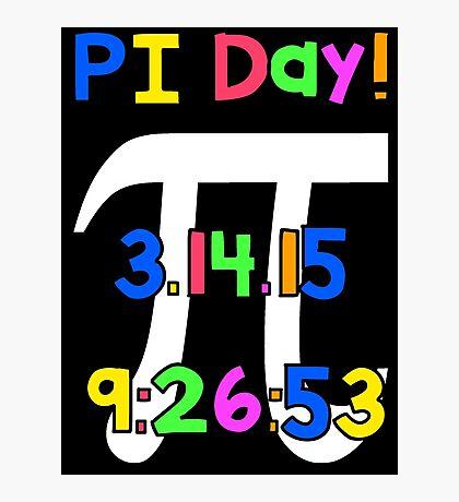 PI Day! Photographic Print