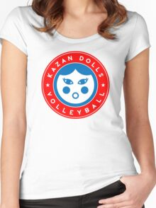 Kazan Dolls Volleyball Women's Fitted Scoop T-Shirt