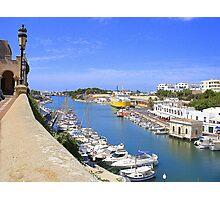 Ciutadella Harbour Photographic Print