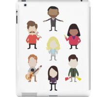 The Parks and Rec Family iPad Case/Skin