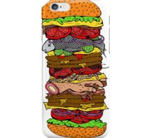 Ze Ultimate Burger iPhone Case/Skin