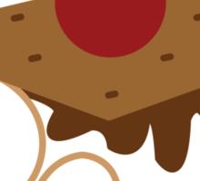 Robot Marshmellow Sticker
