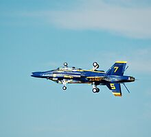 Blue Angel inverted pass. by Mark Weaver