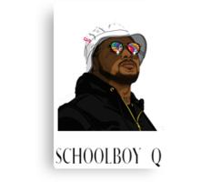 Schoolboy Q Canvas Print