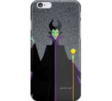 Origami - Mistress of All Evil iPhone Case/Skin