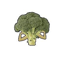 Broccoli Builder Photographic Print