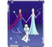 Origami - Do you want to build a snowman iPad Case/Skin