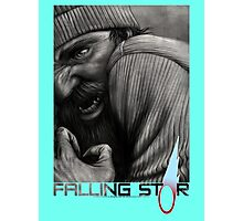 Falling Star, Character Series - 'D' Photographic Print