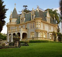 Kimberly Crest Mansion, Redlands California by Mark Ramstead