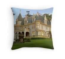 Kimberly Crest Mansion, Redlands California Throw Pillow
