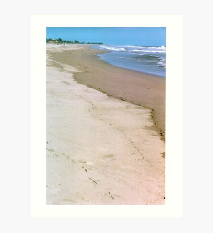 Shades of Beach Art Print