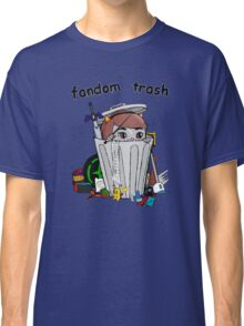 Fandom Trash Logo Classic T-Shirt