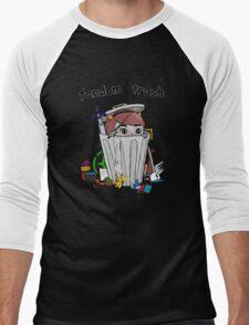Fandom Trash Logo Men's Baseball ¾ T-Shirt