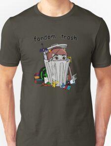 Fandom Trash Logo Unisex T-Shirt