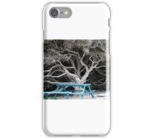 Blue seat  iPhone Case/Skin