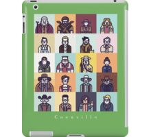 Coenville (White Lettering) iPad Case/Skin