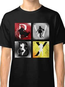 Team RWBY 4 Way Combo Characters Classic T-Shirt
