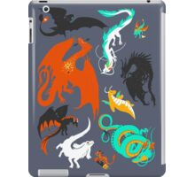 A Flight with Dragons iPad Case/Skin
