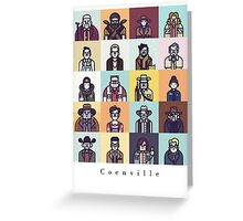 Coenville Greeting Card