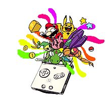 Gameboy advance SP: joy machine  by Overcesium