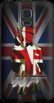 James Bond- 007 iphone case by ALIANATOR
