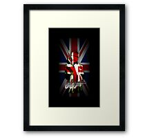 James Bond- 007 iphone case Framed Print