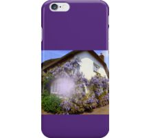 Clothed in Wisteria iPhone Case/Skin