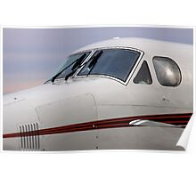 Beechcraft Kingair 200 Poster