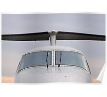 Beechcraft Kingair 200 T-Tail Poster