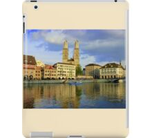 Zurich  - You Touched My Heart iPad Case/Skin