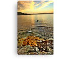 Fisherman - Balmoral Beach - The HDR Series Canvas Print