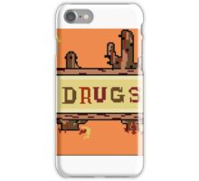 Drugs Sign Earthbound iPhone Case/Skin