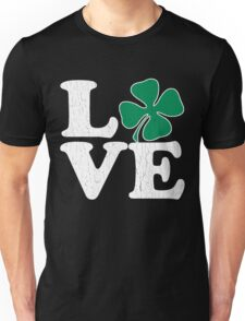 Cute! Love St. Patty's Day (vintage distressed look) Unisex T-Shirt
