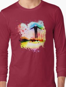 The Psychedelic Zombie Long Sleeve T-Shirt