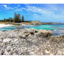 The Basin -  Rottnest Island WA - Panorama Sticker