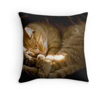 Power nap Throw Pillow