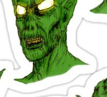 Portrait Of A Sewer Creature Sticker