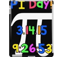 PI Day! iPad Case/Skin