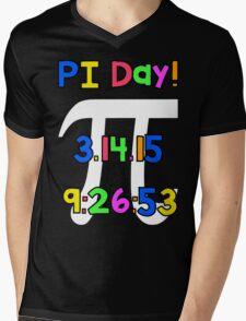 PI Day! Mens V-Neck T-Shirt