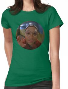 The Reverse Peephole Womens Fitted T-Shirt