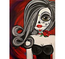 Big Eye Doll Photographic Print