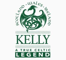 Kelly, A True Celtic Legend by Albany Retro