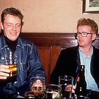 Suggs &amp; Chris Evans by MarkYoung