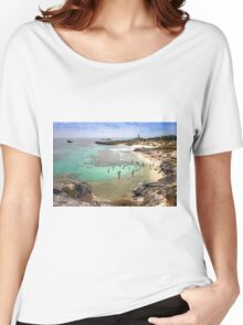 The Basin - Rottnest Island WA Women's Relaxed Fit T-Shirt