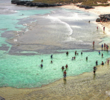 The Basin - Rottnest Island WA Sticker