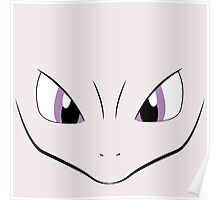 Mewtwo face Poster