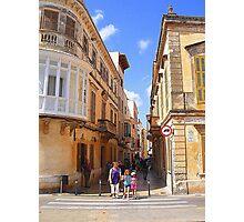 A Ciutadella Crossing................................Menorca Photographic Print
