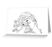 Kit Walker AHS Evan Peters Greeting Card