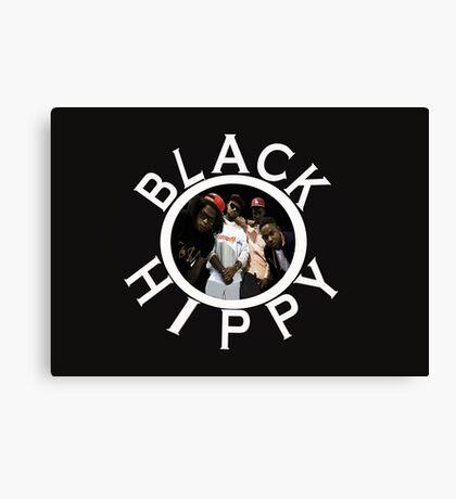 Black Hippy Canvas Print